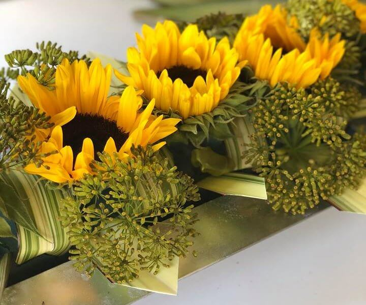 Floral Tutorial: Bright Sunflowers with Anna Stevens