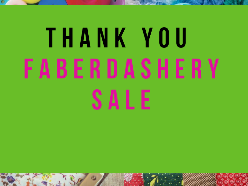 A fantastic fabric sale thanks