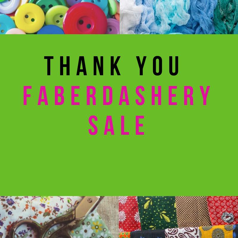 A fantastic fabric sale thanks
