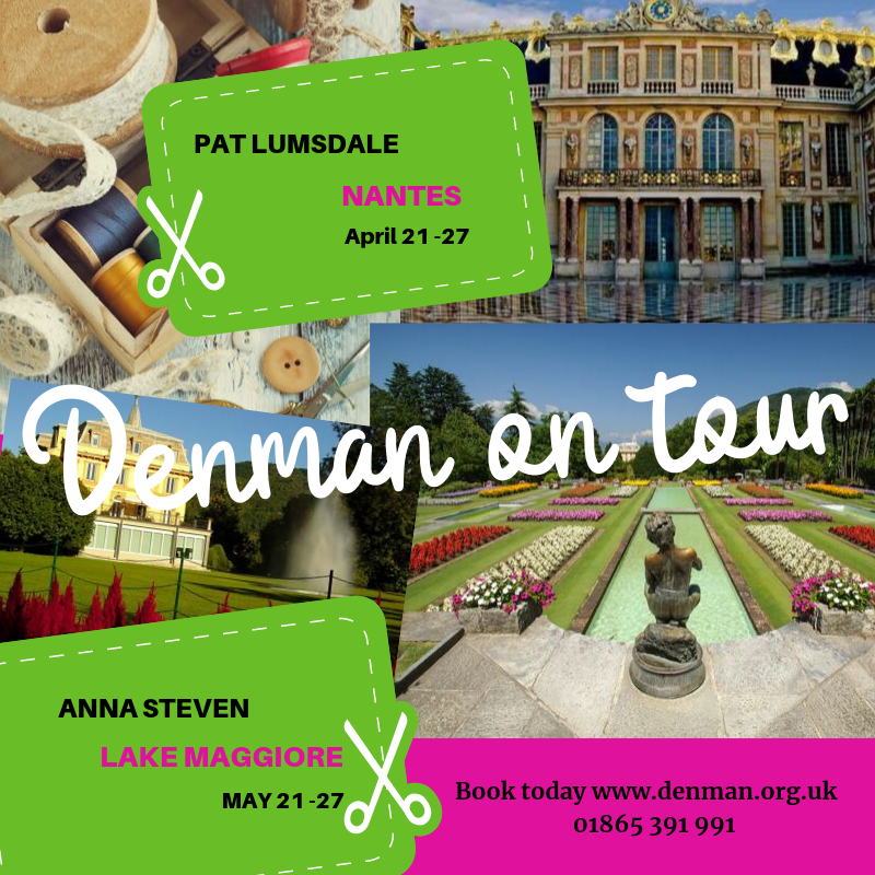 Escape with Denman on Tour in 2020!